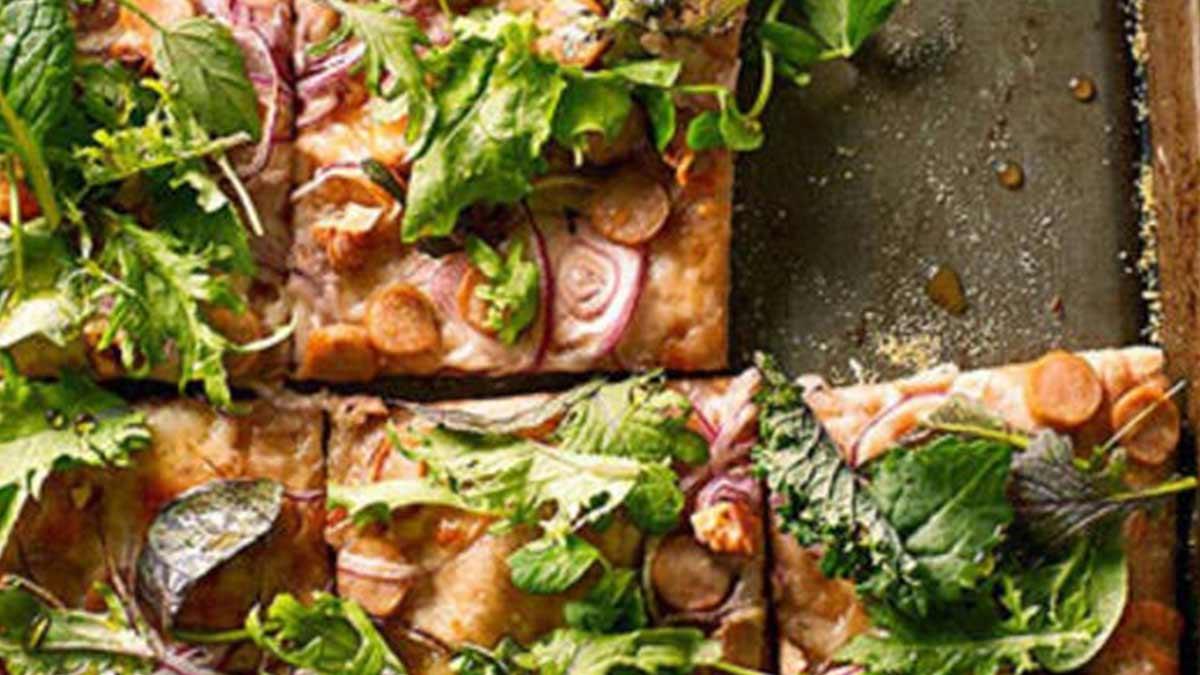 recept na zdravú pizzu, zdravá pizza